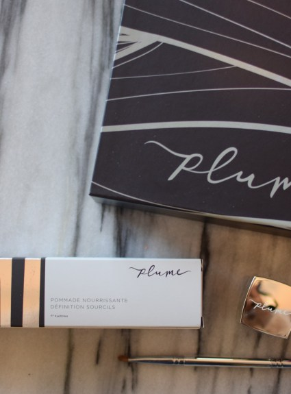 Plume Nourish + Define Brow Pomade