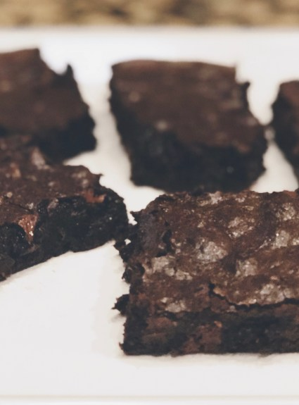 FUDGE BROWNIES: Gluten Free + Dairy Free + Paleo