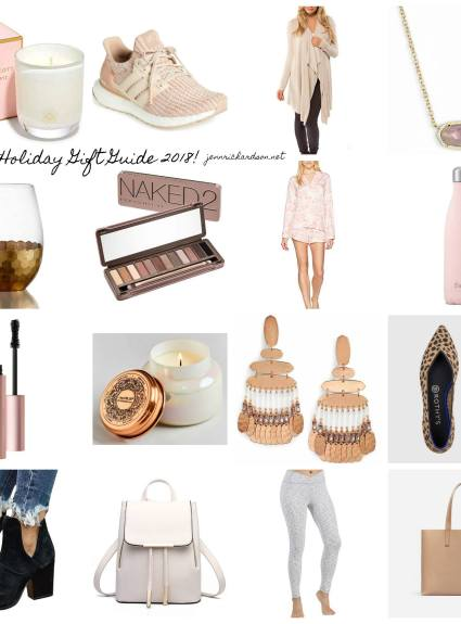 Ladies Holiday Gift Guide 2018
