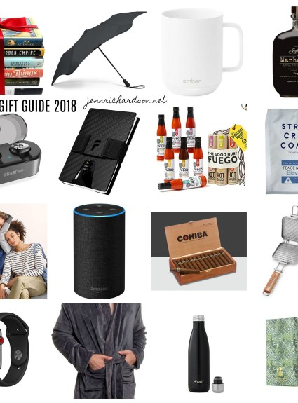 Mens Holiday Gift Guide 2018