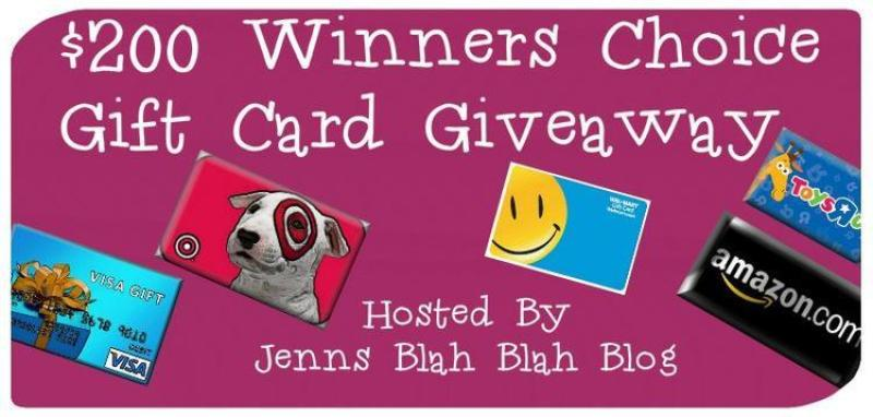 $200 Gift Card Giveaway For September