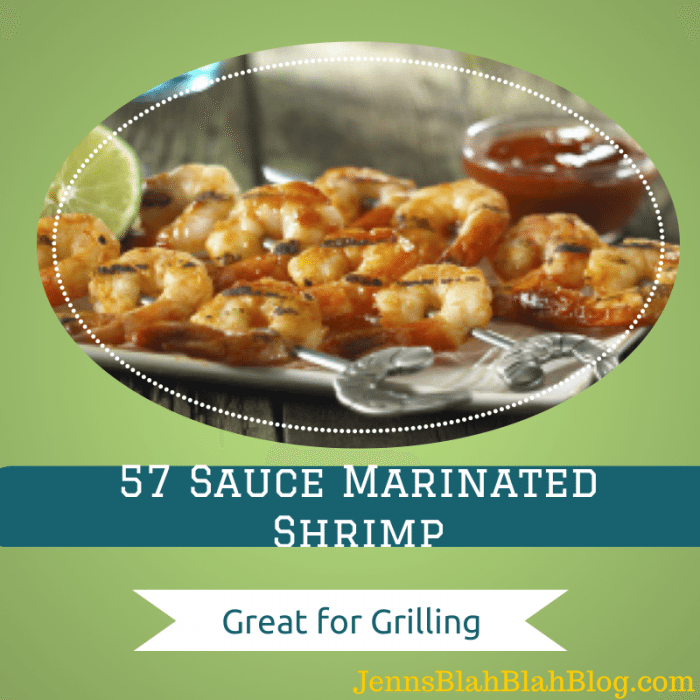 57 Sauce Marinated Shrimp