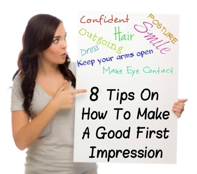 how i made a good first impression essay First impressions are very important and it may take a long time to alter your outlook on something new, but with enough time and effort this opinion could transform into a new one change is a part of life so one little opinion is bound to change at some point a first impression is the split-second decision you make about how you feel when you.