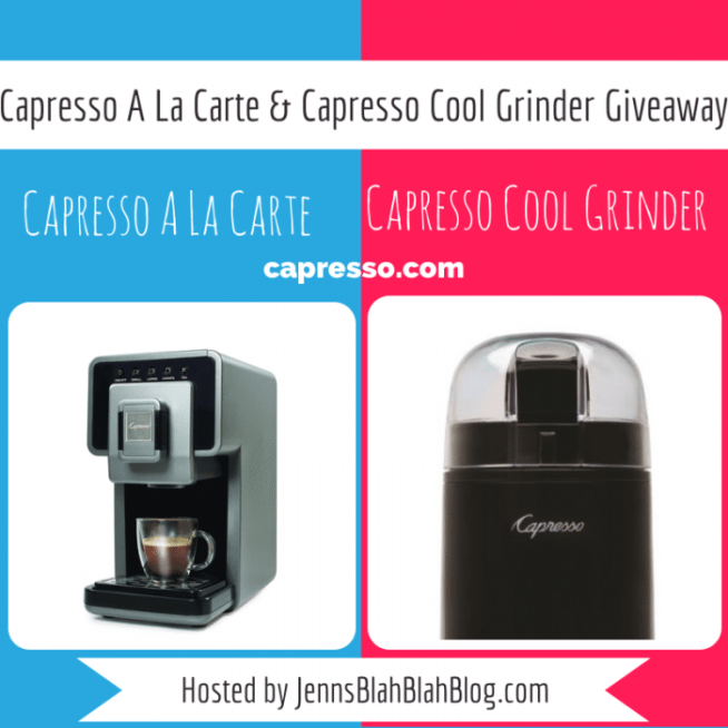 Capresso A La Carte & Capresso Cool Grinder Giveaway