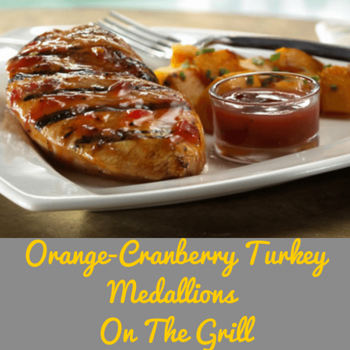 Orange-Cranberry Turkey Medallions