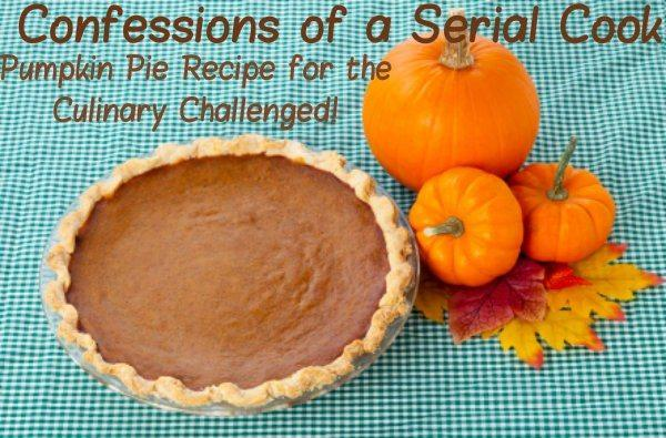 Picture of Pumpkin Pie with pumpkins sitting on a table