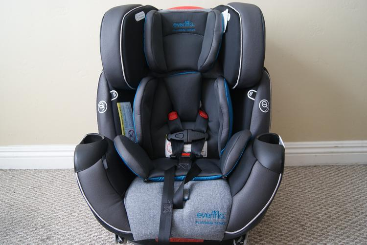 the evenflo platinum symphony dlx all in one car seat baby s got a new cadillac jenns blah. Black Bedroom Furniture Sets. Home Design Ideas
