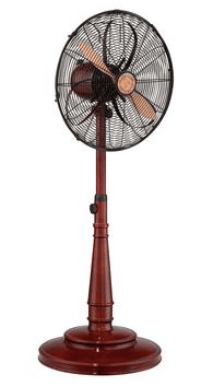 "Savoy House 18"" Floor Standing Sleep Fan in Cherrywood"