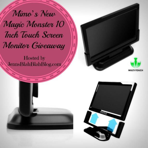 Mimo's New Magic Monster 10 Inch Touch Screen Monitor