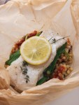 Halibut in Parchment Paper