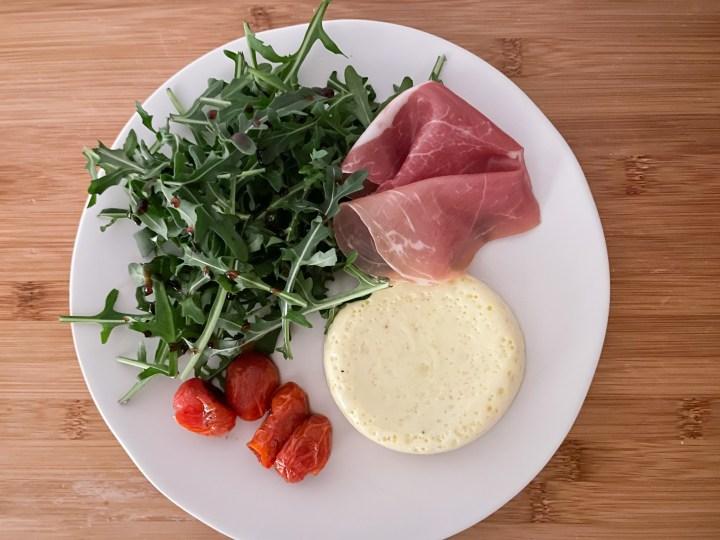 Savory Parmesan Flan