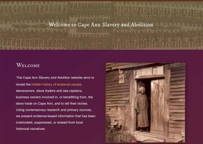 Cape Ann Slavery & Abolition