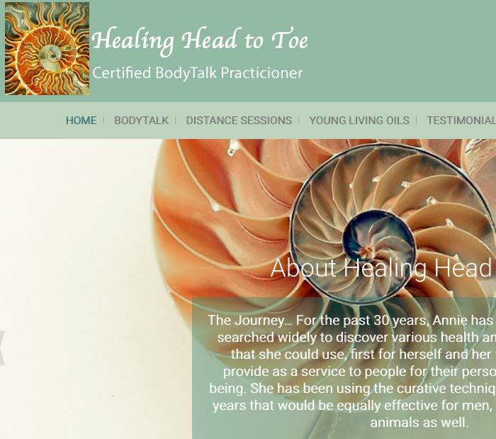 Healing Head to Toe