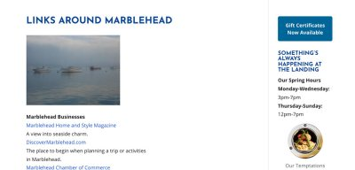 marblehead community page