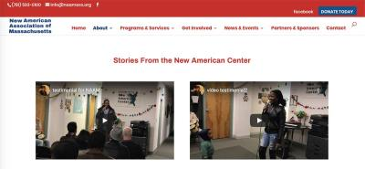 stories from New American Center
