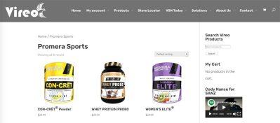 Promera Sports products
