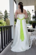 June '13, Wedding Dress and Belt