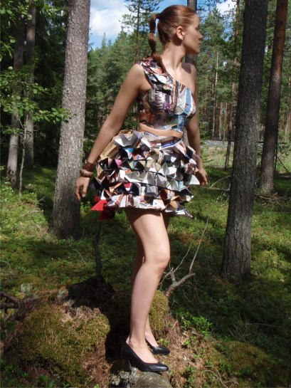 Paper Creations, top and skirt