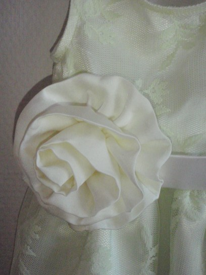 Princess Rosie, Fabric Rose