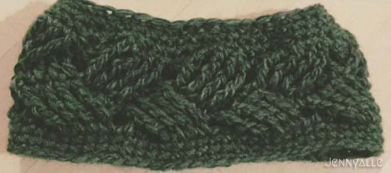 diy bandeau crochet
