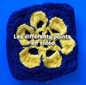 crochet points explications