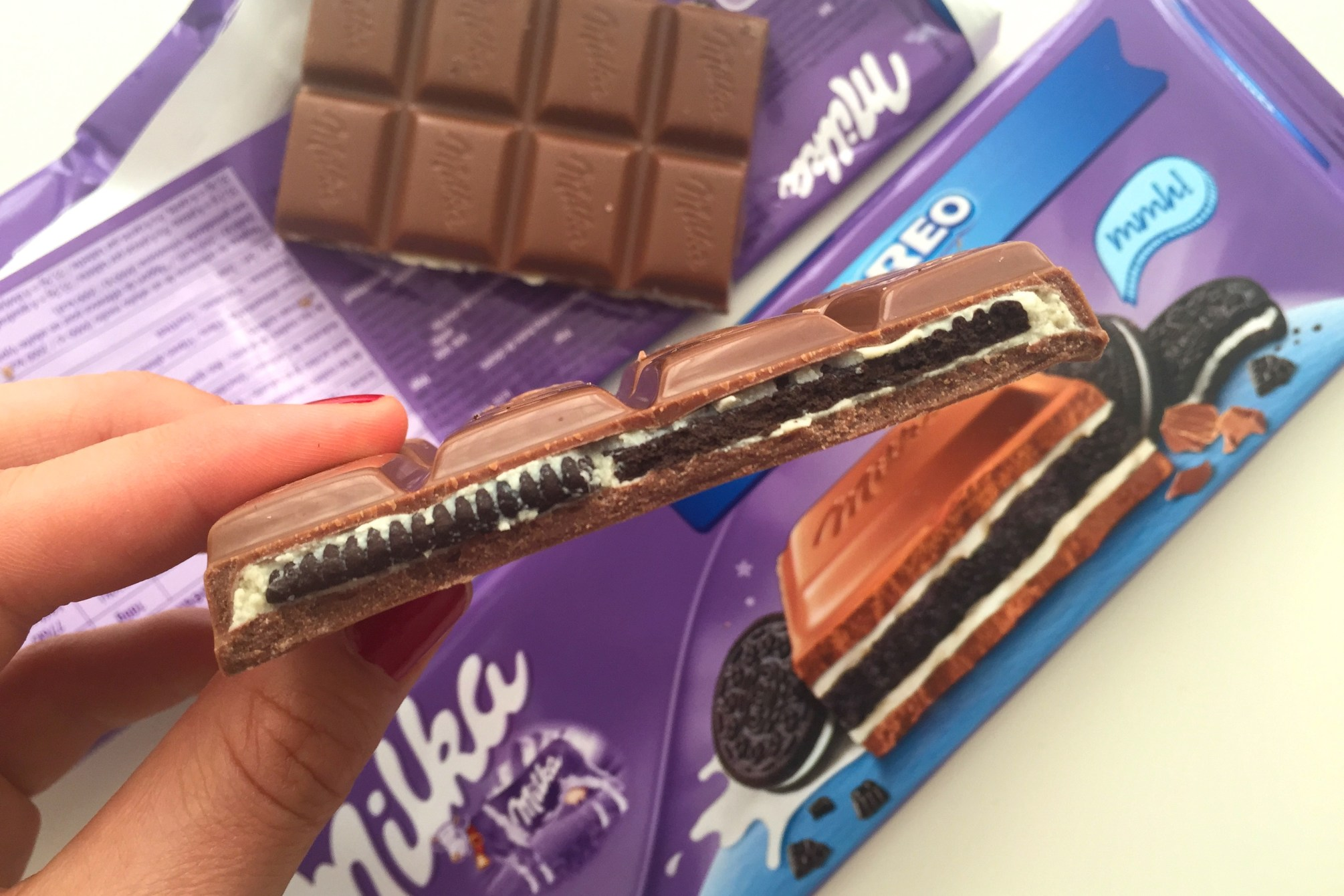favoriete chocolade reep