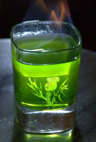 Absinthe shot. Photo courtesy: http://mannup.vn/wp-content/uploads/2013/10/dsc_1664.jpg