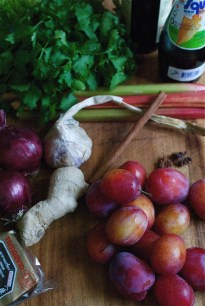 Ingredients for Asian Plum Sauce