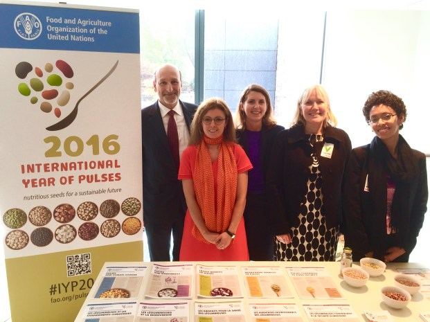 International Year of Pulses in Brussels