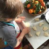 Jenny Chandler : pizza bianca with Rachel