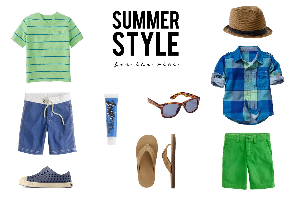 Toddler Boy Style Summer Fashion Jenny Collier Blog