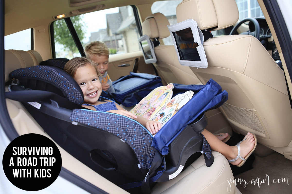 Surviving A Road Trip With Kids Jenny Collier Blog