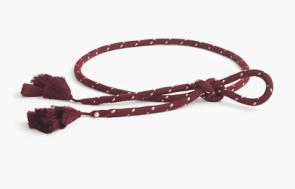 J. Crew Tassel Rope Belt