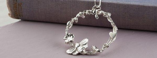 Handmade silver jewellery from Scotland by Jenny Grace