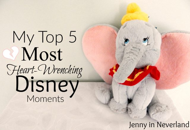My Top 5 Most Heart-Wrenching Disney Moments