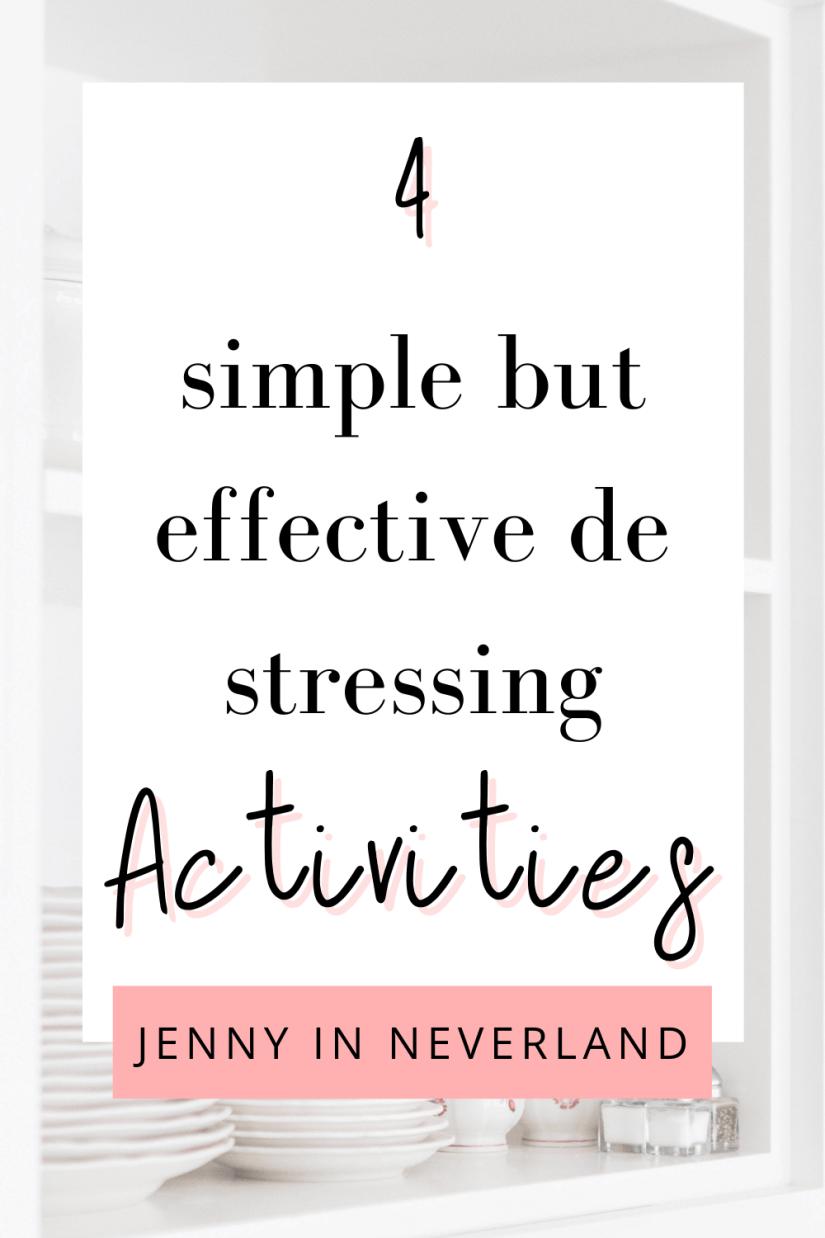 de stressing activities