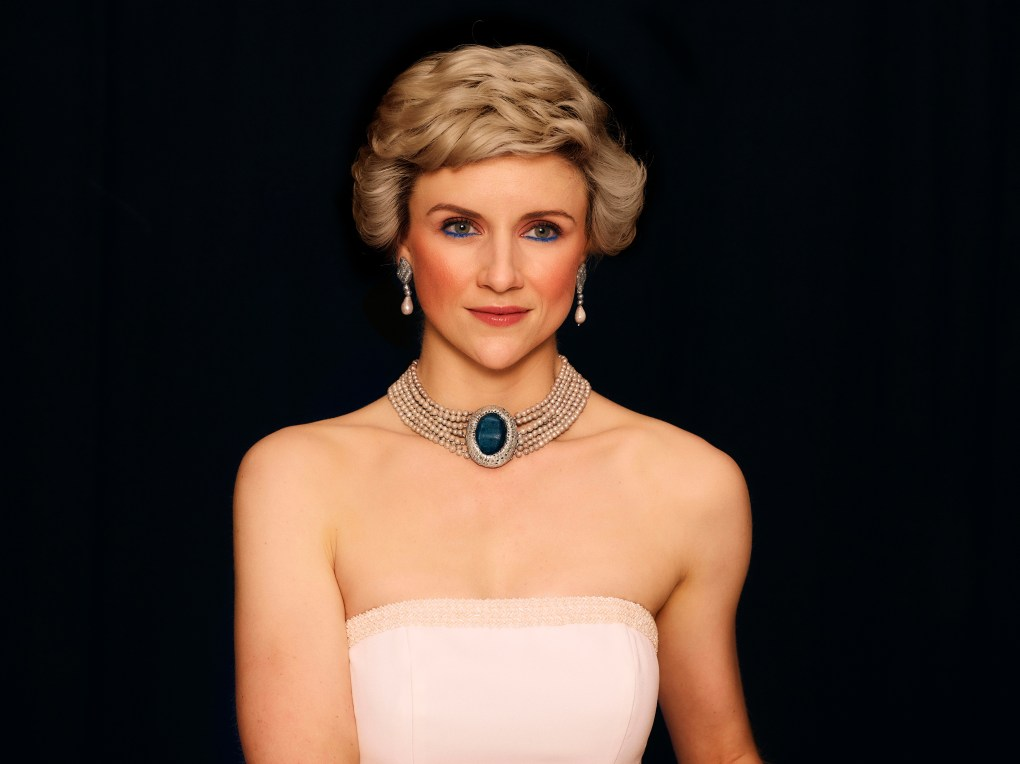 Recreated image of Princess Diana