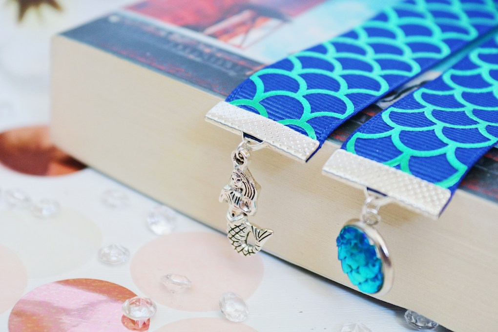 Literary Galaxy Mermaid Bookmark