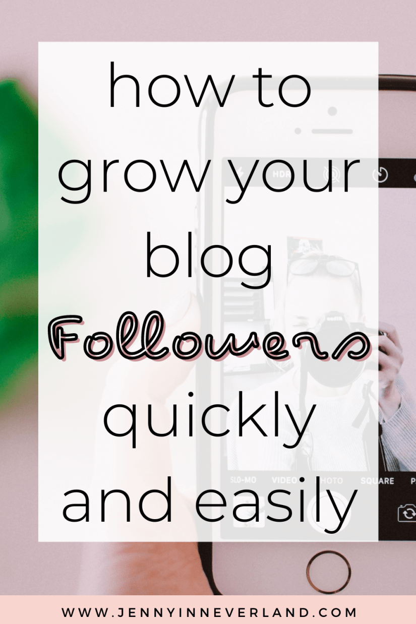 how to get blog followers