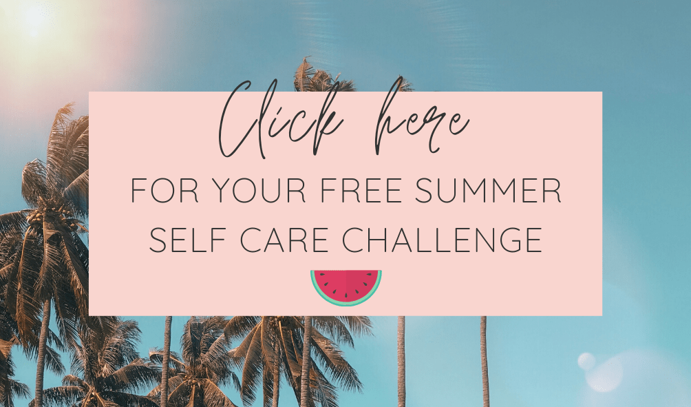 Summer Self Care Challenge