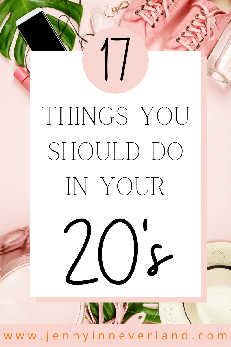 things to do in your twenties