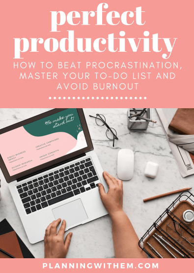 Perfect Productivity
