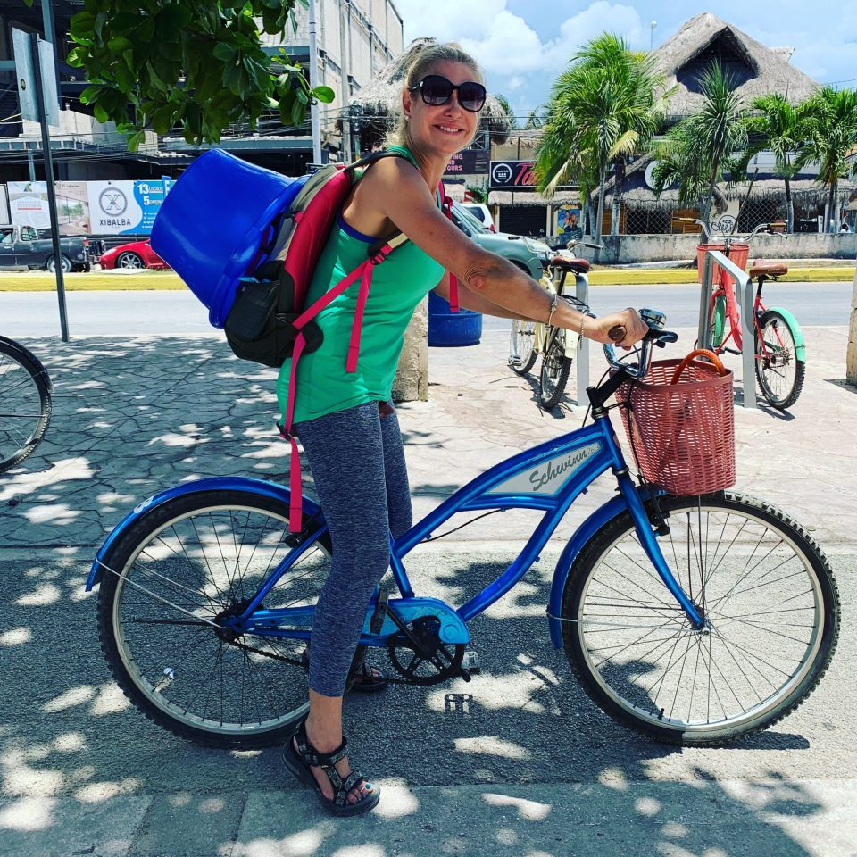 Transportation and getting around mexico bicycle