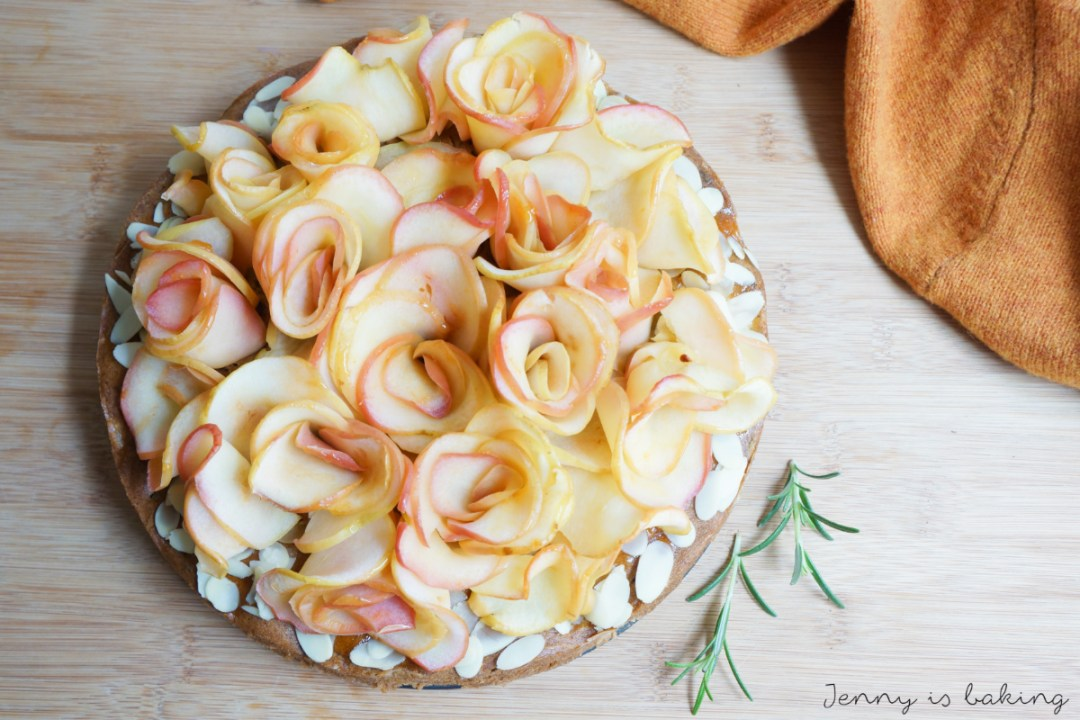 Apple Rose Cake