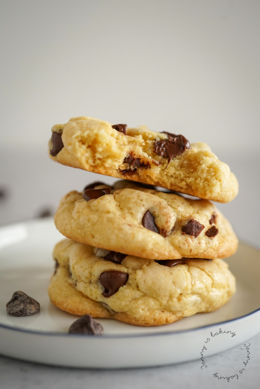 Weiche Chocolate-Chip-Pudding-Cookies