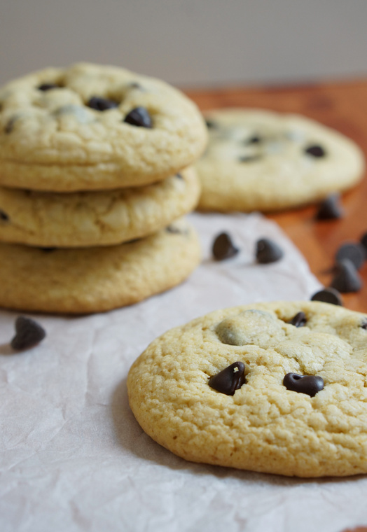 Chocolate Chip Cookies With Pudding