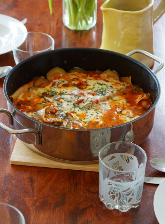 One-pot lasagna