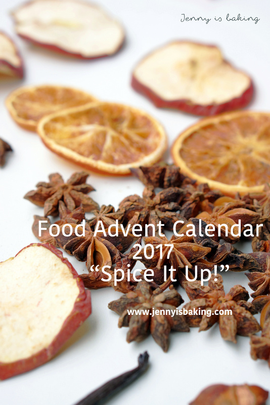 "Food Advent Calendar ""Spice It Up"""