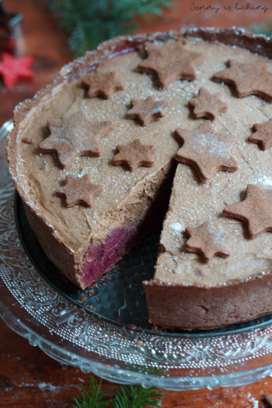 Chocolate Mousse Cherry Cake