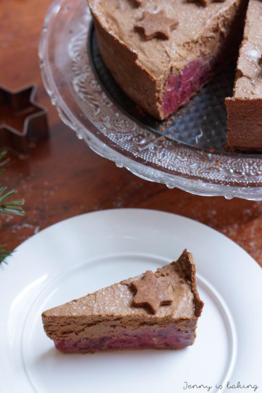 Chocolate Mousse Cherry Cake